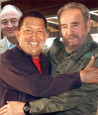 Mayor Ken Livingstone and Hugo Chavez