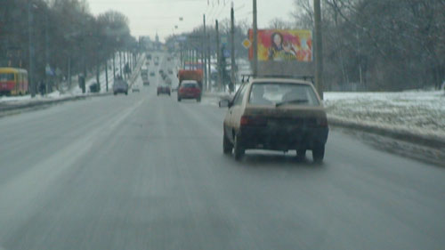 Driving shot USSR 2