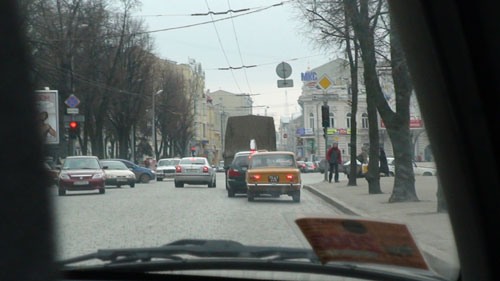 Driving shot USSR 3
