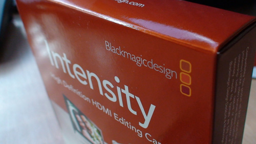 Intensity HDMI Card Box
