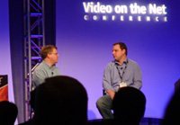 Mike Arrington and Robert Scoble