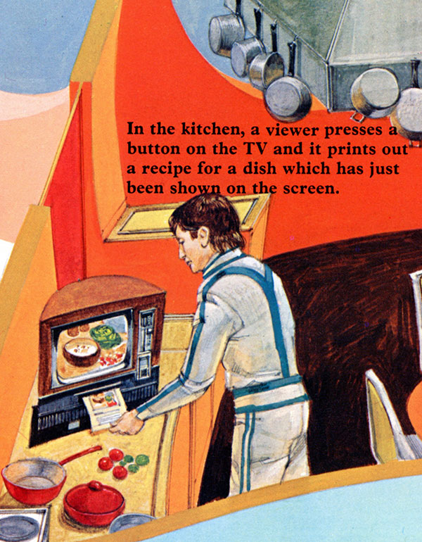 Future of Television - The Kitchen Graphic