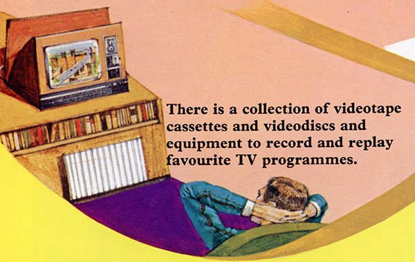Future of Television Videodiscs Graphic