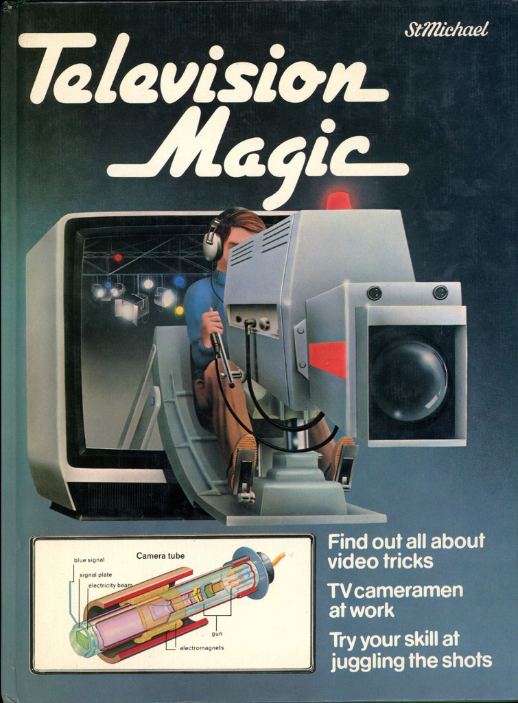 Cover of the Book Television Magic by Eurfron Gwynne Jones